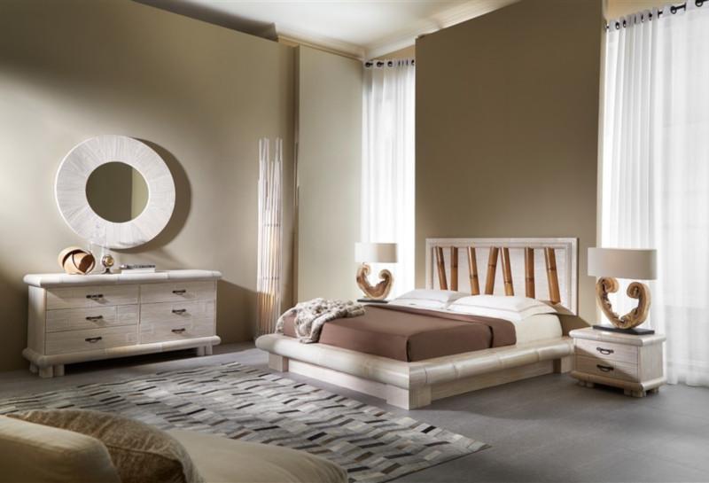 Camera da letto bambù Virunga 4BCN - Giunco Casa, arredamento